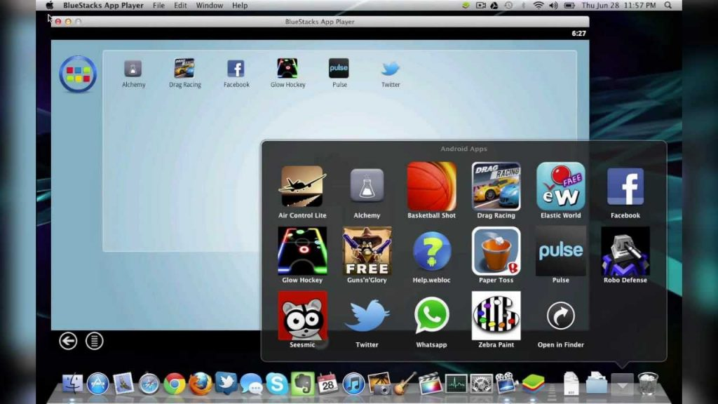BlueStacks For MacBook OS X High Sierra Mojave