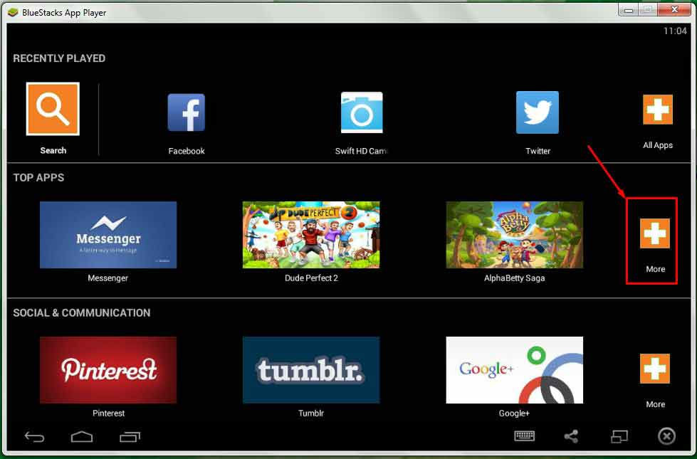 Bluestacks for Windows 10 (32 Bit/64 Bit)