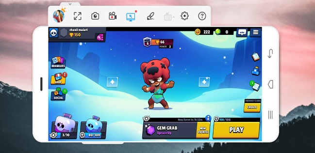 Brawl Stars on PC ApowerMirror