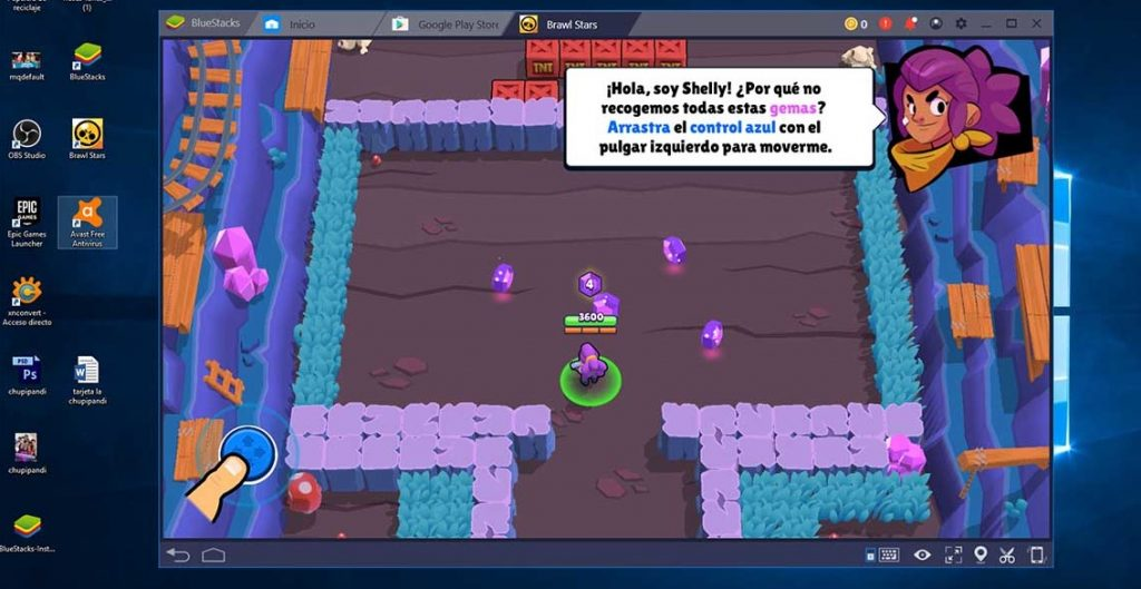 Brawl Stars on PC Bluestacks